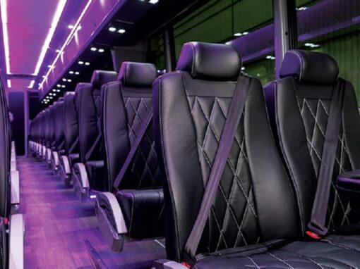 MCI Bus Interior